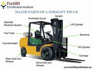 Learn The Major Parts Of A Forklift Truck   Forklift