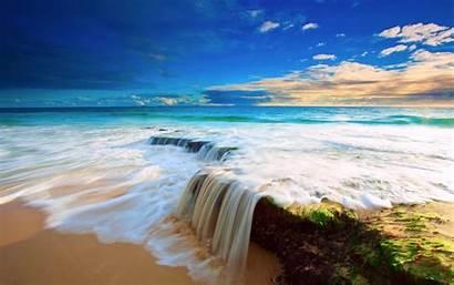 Macbook Sea Wallpapers Pro Wave Mac Inch