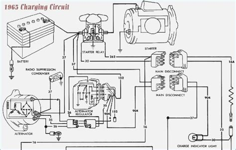 Ford Voltage Regulator Wiring Diagram For Mustang