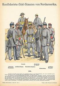Confederate soldiers antique print - Frontispiece