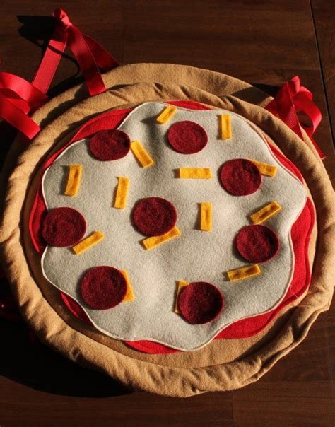 Pizza Halloween Costume with Pizza