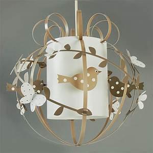 Suspension Chambre Bébé : suspension oiseau luminaire chambre enfant lampe casse ~ Voncanada.com Idées de Décoration