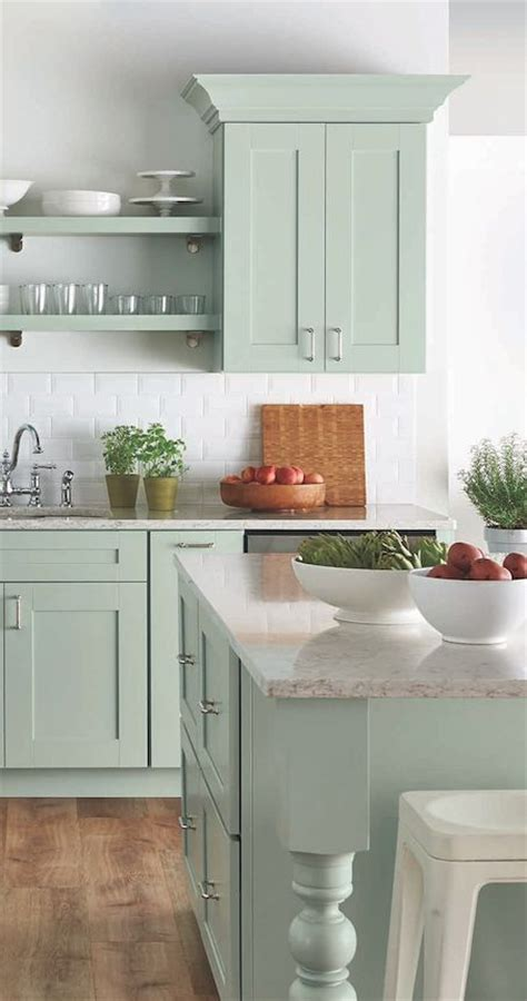 kitchen mint green dreaming about mint kitchen cabinets the wicker house 2303