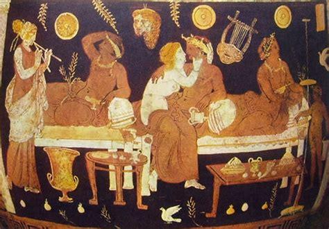 alimentazione antica grecia il simposio a con cantarella greci e romani a