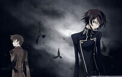 Geass Lelouch Code Anime Lamperouge Wallpapers Backgrounds