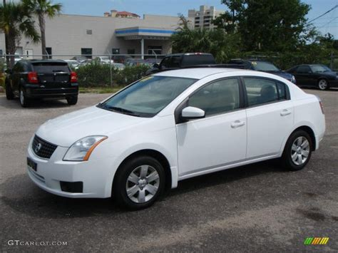 white nissan 2007 fresh powder white nissan sentra 2 0 1529263