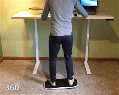 Dwight Standing Desk Gif by Review Decks By Fluidstance Bring Motion And To