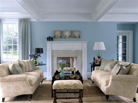 living room blue paint ideas