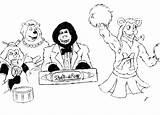 Explosion Rock Afire Drawing Getdrawings sketch template