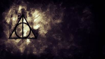 Deathly Potter Hallows Harry Symbol Wallpapers Death
