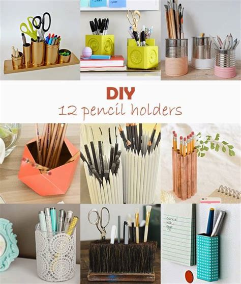 diy pencil holder for desk your workmates will be jealous of your desk space with