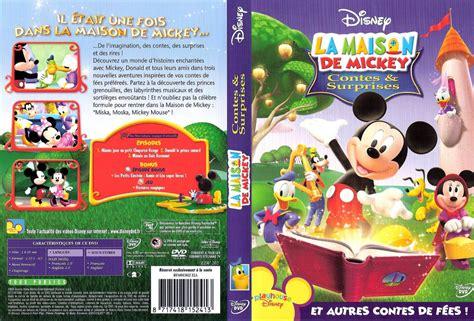 jaquette dvd de la maison de mickey contes surprises