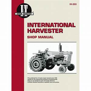 International Harvester Service Manual 272 Pages  Wiring