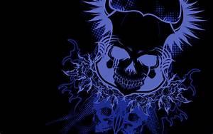 Blue skull Full HD Wallpaper and Background | 1920x1200 ...