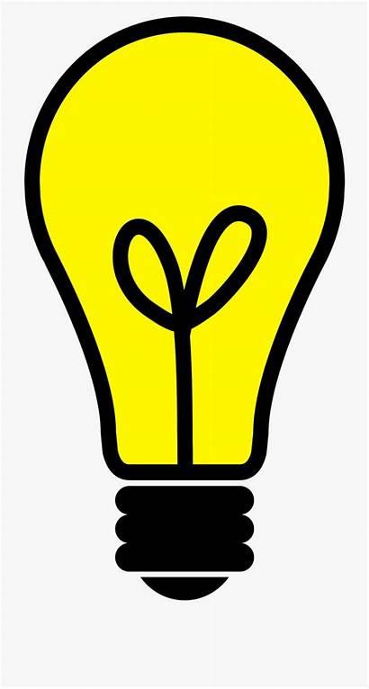 Clipart Lightbulb Bulb Clip Idea Lights Lightbuld