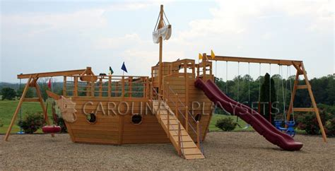 backyard pirate ship plans playhouse swing set plans pirate ship playhouses my