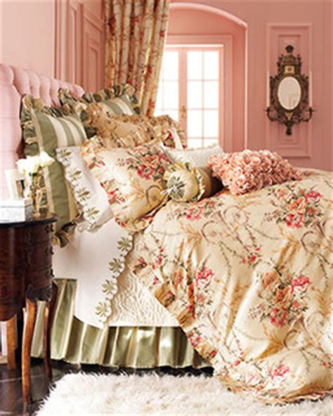 shabby chic bedding and curtain sets cosette bed linens rochelle fitted sheet king