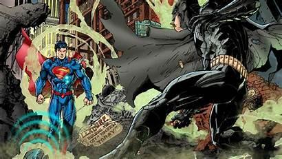 Superman Batman Comic Comics Wallpapers Lee Jim