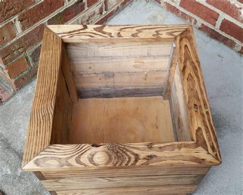 pallet planter boxes  balcony pallet furniture plans