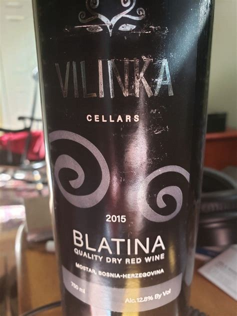 2015 Vilinka Blatina Bosnia Herzegovina Hercegovina