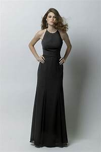 watters wtoo 283 bridesmaid dress With robe longue noire simple