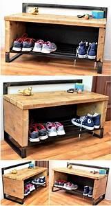 Range Chaussures Bois : range chaussure palette affordable large size of semi meuble en anglais range chaussure ~ Dode.kayakingforconservation.com Idées de Décoration