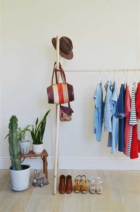 diy clothes rack diy clothing rack a beautiful mess