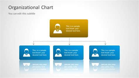 org chart template  powerpoint slidemodel