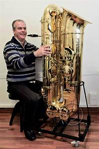 The J'Élle Stainer Subcontrabass Saxophone: A Photo Essay ...