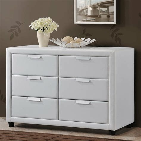 Modern Bedroom Dressers by Bedroom Storage Dresser White Modern Chest Leather 6