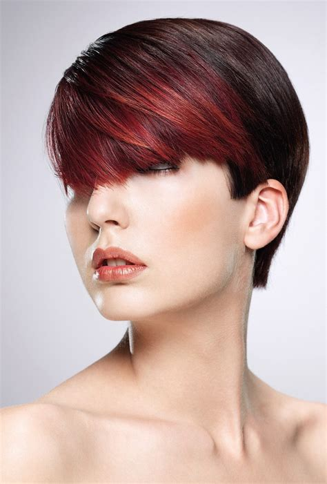short hairstyle   versatile fringe  clear cutting