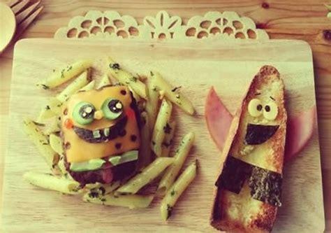 craft spongebob burger  fries hellokidscom