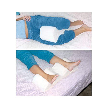 leg wedge pillow deluxe comfort leg wedge pillow walmart