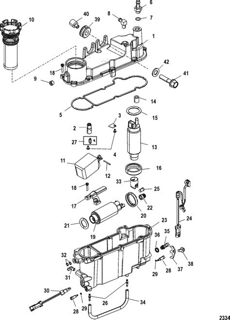Mercury Mariner Racing 300XS (3.2L DFI) Vapor Separator