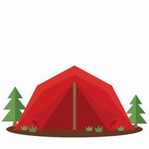 Camping Tent Silhouette at GetDrawings.com | Free for ...