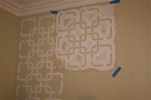 wall paint stencils geometric for exciting make your own With interior decoration wall stencils