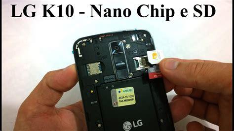 colocar  nano chip  cartao sd  lg  youtube