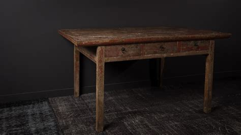 bureau olier ancien bureau ancien chinois laque 3 tiroirs ming xvii