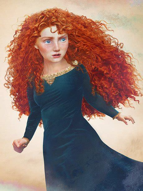 Merida 'Brave' - Disney Princesses Are Brought To Life…And ...