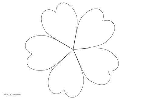 petal flower coloring page sketch coloring page