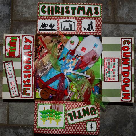christmas care packages for lds missionaries box 12 days of 2nd year lds care packages