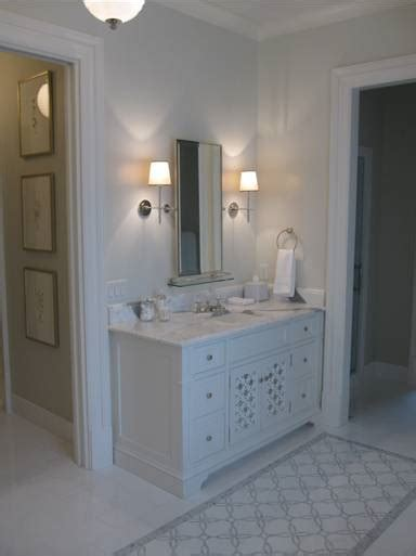 light gray bathroom traditional bathroom phoebe howard