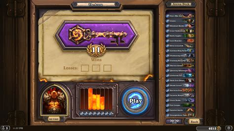 warrior deck hearthpwn icy another 12 0 warrior draft the arena hearthstone