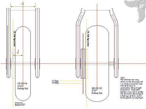 Chopper Frame Dimensions