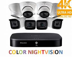 Lorex 4k Ultra Hd Home Security System With Eight