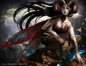 Aries - 2016 Fae Zodiac Calendar by Enchantress-LeLe on ...