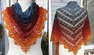 Bruinen Shawl  Free Crochet Pattern