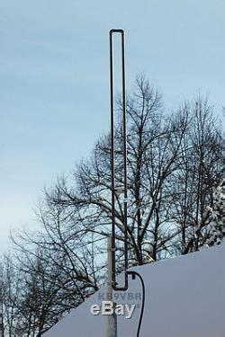 2 meter vhf slim jim ham radio j pole base antenna 144 148mhz