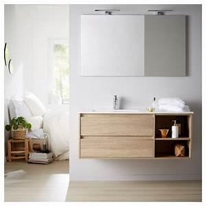 Miroir Salle De Bain 120 Cm : vente meuble de salle de bain plan vasque miroir ~ Dailycaller-alerts.com Idées de Décoration