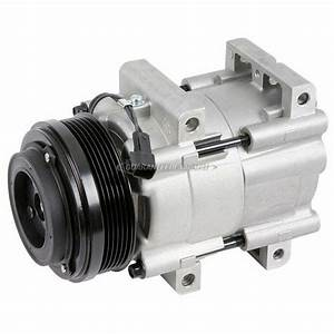 2010 Ford Mustang A  C Compressor 4 0l Engine 60